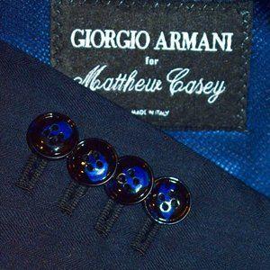 42L Giorgio Armani Current Custom Navy SUIT